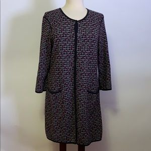 Pendleton Long Cardigan Sweater Size L